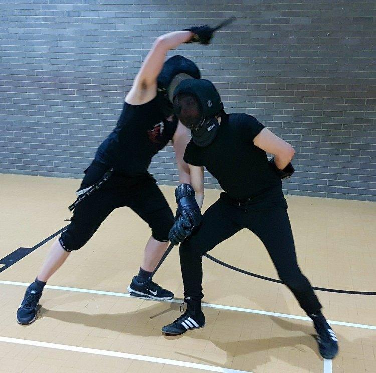 dagger sparring